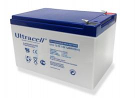 Accu Ultracell DCGA 12V 12AH/20hr. DeepCycle Gel accu voor langer rijplezier