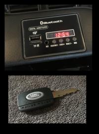 Range Rover Evoque, BlueTooth, zwart metallic, FM radio, Leder Look, EVA, 2.4ghz RC  (EVOzw))