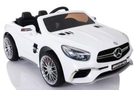 Mercedes-Benz SL65, FM radio, wit, leder, eva, 2.4ghz rc ( XMX-602wt)