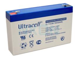 Accu 6V7ah  Ultra cell, kinderautoaccu, quad accu