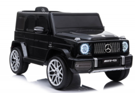 Mercedes-Benz  G63///AMG,  zwart metallic, FM,leder, BlueTooth,  FULL options (S306zw)