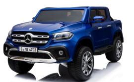 Mercedes-Benz X-Class, Metallic blauw, 4WD, Mp4 tv, FM, BlueTooth, Leder, etc (XMX-606blue)