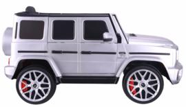 Mercedes-Benz  G63///AMG,  Zilver metallic, FM,leder, BlueTooth,  FULL options (S306zil)