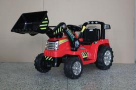 Tractor rood 12V7ah, 2.4ghz softstart afstandsbediening (ZP1005rd)