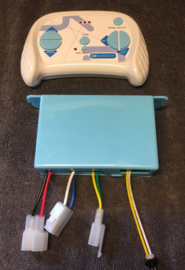 Controller + RC SHSB12VJB-3S blauwe knoppen, blue button SHSB12VJB-3S