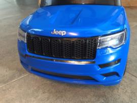 JEEP Grand Cherokee, loopauto zwart, met toeter, en diverse geluiden. (JQ606blue)