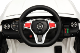 Mercedes GLA45 ///AMG wit  12V + 2.4GHZ  RC, EVA,  leder (GLA45wt)