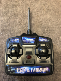 Fast and Furiouse 27mhz afstandsbediening, kinderauto afstandsbediening, (F&F RC)