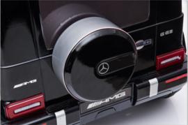 Mercedes-Benz  G63///AMG,  zwart metallic, FM,leder, BlueTooth,  FULL options (S306zw)