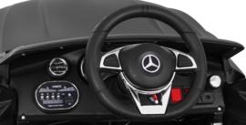 Mercedes C63 S Coupé ///AMG wit, 12V + 2.4GHZ  RC , eva , leder (C63wt)