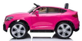 Mercedes-Benz GLC Coupé roze, Mp4 TV, eva , leder, 2.4ghz RC (BBH-008pk)