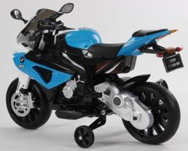BMW S1000RR  12V motor blauw (JT528blue)
