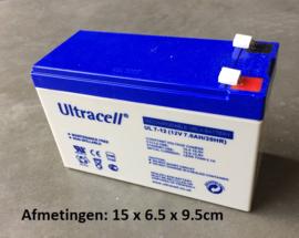 Accu 12V7ah  Ultra cell