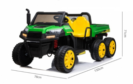 Gator Farm Truck, 6x6, 2x12V7ah, eva, leder,  A730-2 (FarmGator)