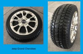 JEEP Grand Cherokee, wit, 12V, leder, Eva, (JJ2055wt)