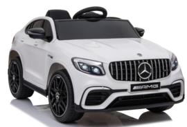 Mercedes-Benz GLC 63S V8 Bi-Turbo,wit, 12V, leder,eva, 2.4ghz rc (5688wt)