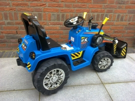 Tractor blauw 12V   ( ZP1005RC )