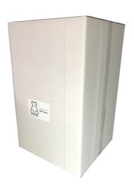 Poly-Ether vlokken voor het opvullen van grote beren. 150ltr/3.2KG doos