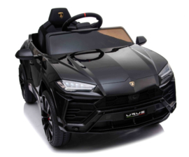 Lamborghini Urus  zwart ,2.4ghz softstart rc, eva, lederen stoel (BDM0923zw)