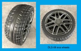 Heftruck , Vorklift, geel, eva, BlueTooth, leather, 12V10ah, 2.4ghz RC (DLS-08gl)