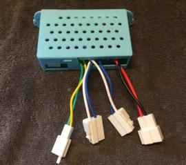 XMX-603, div modellen, 2.4ghz controlbox , SHSB12VJB-3S, blauwe knop, 5 pins inwendige stekker