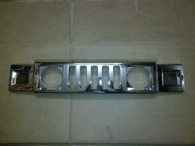 Chrome Grill voor 2 persoons jeep A26