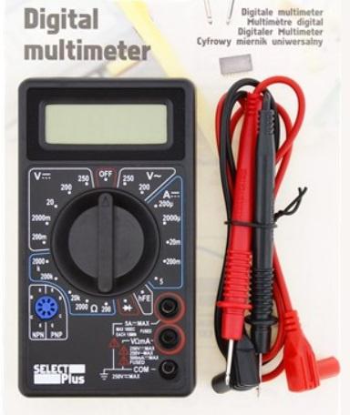 Digitale multimeter, Diagnose tool.
