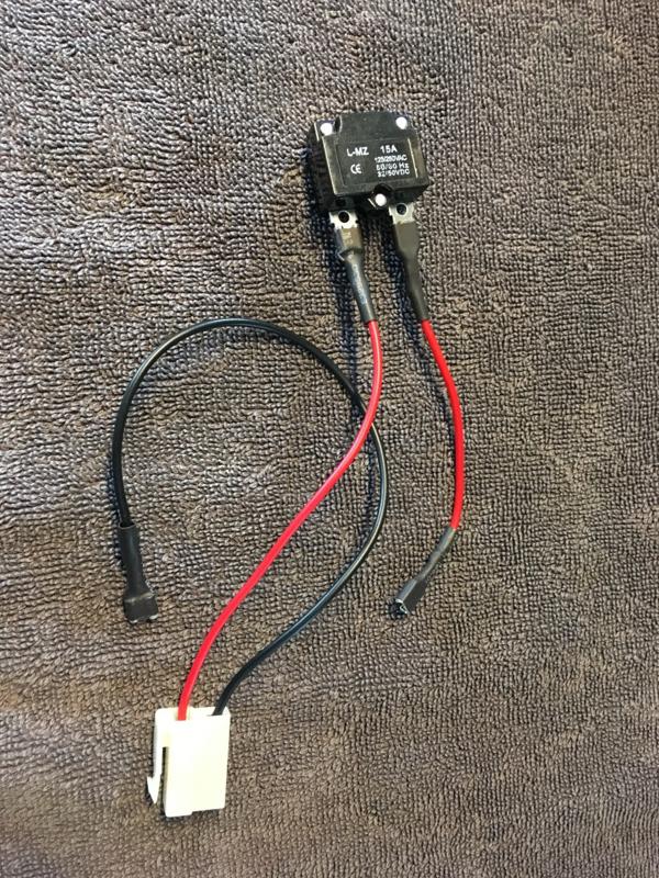 Oplaadkabel tbv oplader met speciale stekker