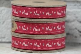 Lint met tekst 'Noel'