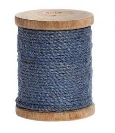 Klos jute touw blauw