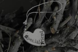 Teksthartje ongelijk 'Special friend '
