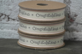 """lint  """"congratulations"""""""