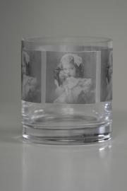 Foto's op glas