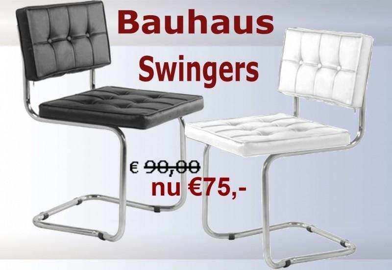 Eetkamerstoel Bauhaus Zwart.Bauhaus Expo Freiswinger Bauhaus Knoll Bekende Moderne Design
