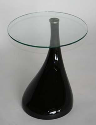 Klein Design Bijzettafeltje.Tear Drop Waterdruppel Design Bijzettafel Koffietafel Retro