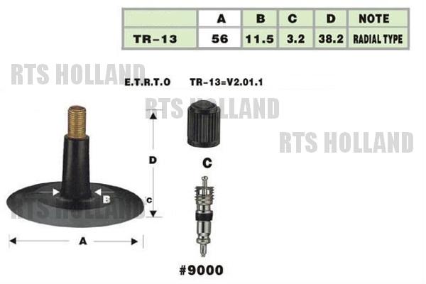 TR-13 Binnenbanden 35x12.50-15