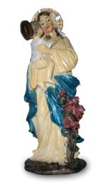 Maria met kind en aureool - 21 cm hoog