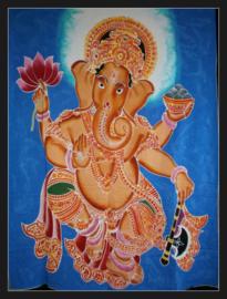 Wandkleed batik Ganesha 95 x 110 cm