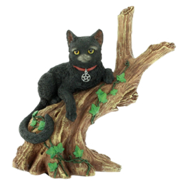 Onyx - Cats from the Coven - Wicca zwarte kat - 14 cm