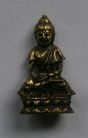 Minibeeld Thaise Boeddha 3.7 cm hoog