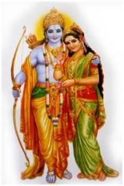 Sticker Krishna Radha 3