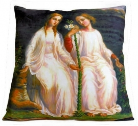 Cushion cover - Two Angels