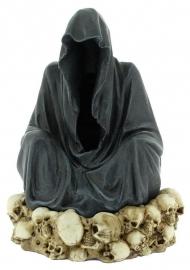 Throne de la Mort - Magere Hein wierookkegel brander - 19 cm hoog