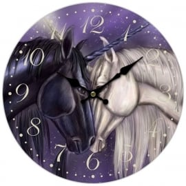 Clock Twin Souls by Ash Evans - 34 cm  Ø