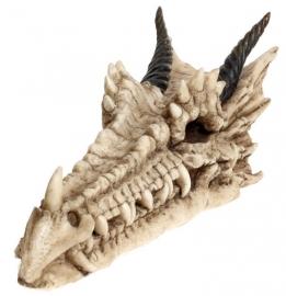 Wierookhouder Draco Skull - Doodskop van draak - 24 cm lang