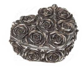 Alchemy of England - sieradendoos - Rose Heart - 8 x 9 cm