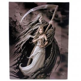 Summon the Reaper - wandbord van Anne Stokes - 25 x 19 cm