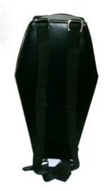 Rugzak Darkstar Jordash doodskist met vleermuis sillhouette zwart