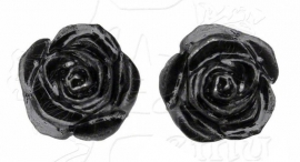 Alchemy Gothic design oorbellen - Romance of the Black Rose