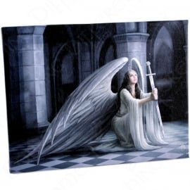 The Blessing - wall plaque by Anne Stokes - 25 x 19 cm